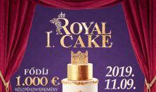 I. RoyalCake Országos,nemzetközi torta- és cukrászati artisztika verseny