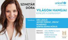 Szinetár Dóra – Világom hangjai – koncert a gyerekekért