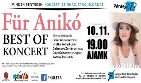 PénteK13 – Für Anikó: BEST OF koncert