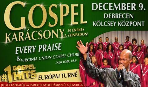 Gospel karácsony - Every Praise & Virginia Union Gospel Choir /New York, USA/