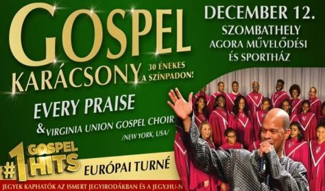 Gospel karácsony - Every Praise & Virginia Union Gospel Choir /New York, USA/