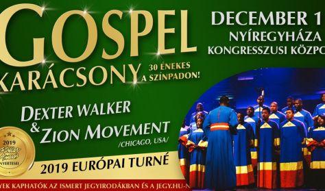 Gospel karácsony - Dexter Walker & Zion Movement(Chicago, USA) - 30 énekessel