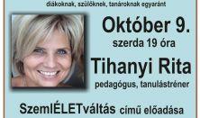 Tihanyi Rita: SzemlÉLETváltás