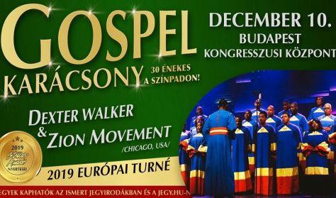 GOSPEL KARÁCSONY Dexter Walker & Zion Movement /Chicago, Usa/ 30 énekessel