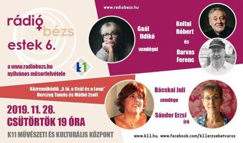 RÁDIÓ BÉZS nyilvános műsorfelvétel /november