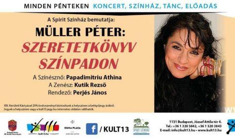 PénteK13 – Müller Péter: Szeretetkönyv színpadon