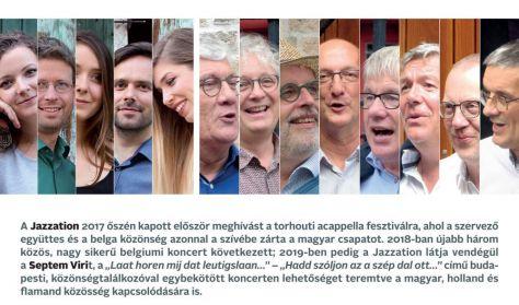 Duplicappella! - Jazzation (HU) + Septem Viri (BE)