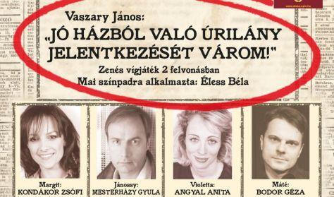 """Vaszary János: """"JÓ HÁZBÓL VALÓ ÚRILÁNY JELENTKEZÉSÉT VÁROM!"""""""