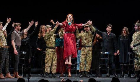 Operavizsga-fesztivál - Milhaud, Puccini (A drezdai Zeneművészeti Főiskola előadása)