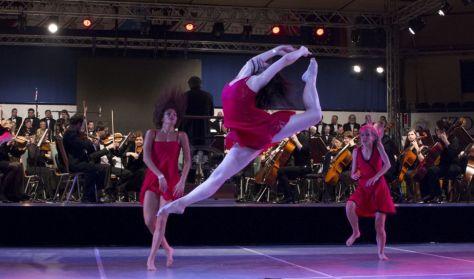 Boléro-remix tánckoncert
