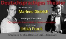 Frank Ildikó Marlene Dietrich zenés est