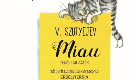 Vidám mesék-Miau- bábelőadás