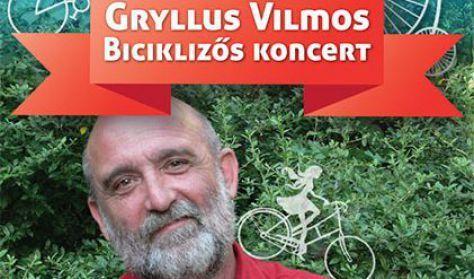 Gryllus Vilmos-Biciklizős koncert