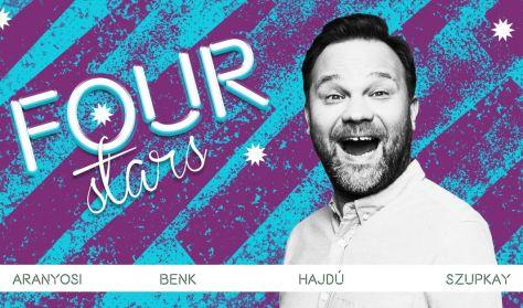 Four stars - Aranyosi, Benk, Hajdú, Szupkay, vendég: Fülöp Viktor