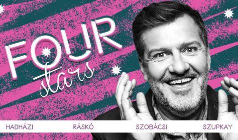Four stars - Hadházi, Ráskó, Szobácsi, Szupkay, vendég: Szabó Balázs Máté