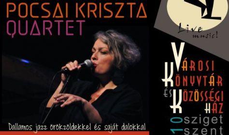 Pocsai Kriszta Quartet - Nemcsak Jazz Klub