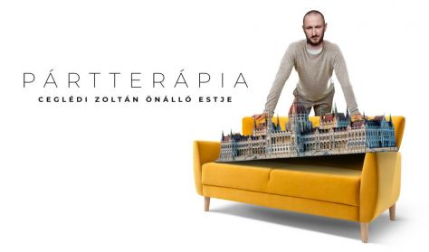 Pártterápia - Ceglédi Zoltán önálló estje