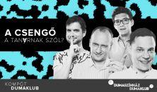 A csengő a tanárnak szól? - Fülöp Viktor, Hajdú Balázs, Litkai Gergely, Szabó Balázs Máté