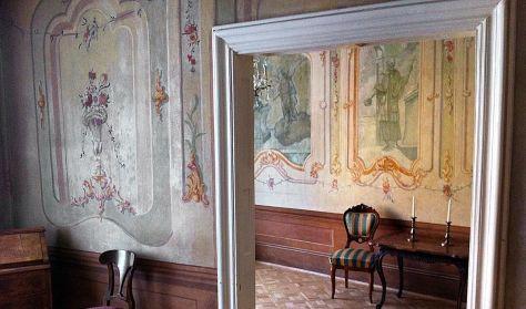 Falképek a De la Motte-Beer-palotában a restaurátor szemével