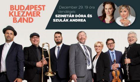Budapest Klezmer Band koncert - Vendég: Szinetár Dóra és Szulák Andrea