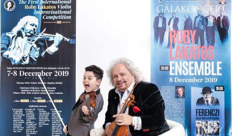 Roby Lakatos Gálakoncert - Ferenczi és az első pesti Rackák - Roby Lakatos Ensemble
