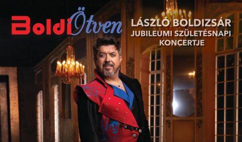 BoldiÖtven - László Boldizsár Jubileumi előszilveszteri koncertje