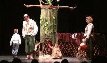 Kabóca Bábszínház - Az égig érő fa - MárkusZínház vendégj. - Papa, mama, gyerekek... cs.n.