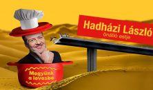 Megyünk a levesbe - Hadházi László önálló estje, műsorvezetők: Lakatos László és Musimbe Dennis