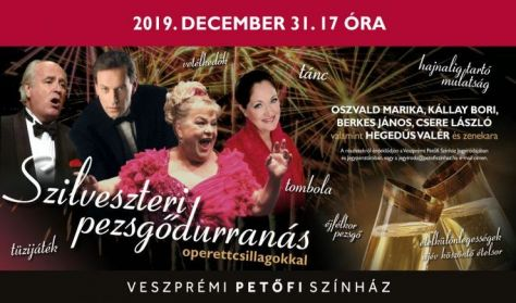 Szilveszteri pezsgődurranás operettcsillagokkal