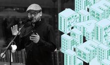 Slam Poetry és tárlatvezetés Sárközi Richárd országos bajnokkal