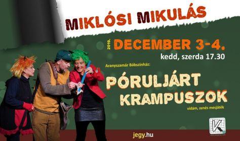 Miklósi Mikulás - Póruljárt krampuszok