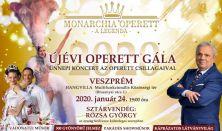Újévi Operett Gála 2020 - Ünnepi koncert az operett csillagaival