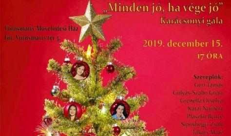 """"""" Minden jó, ha vége jó"""" a Muharay Színház Karácsonyi Gálája"""
