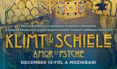 A művészet templomai - Klimt és Schiele - Amor és Psyche - A szecesszió születése