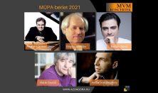MVM Koncertek – A Zongora – Müpa-bérlet 2021 – Volodosz, Szokolov, Balázs J., Korobejnyikov, Ránki
