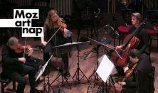 MOZART NAP 6.: C-dúr fuvolanégyes / g-moll vonósötös ( Concerto Budapest szervezésében )