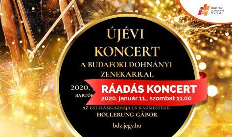 A BDZ újévi koncertje a Müpában! RÁADÁS!
