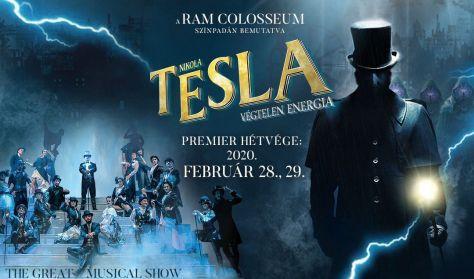 RaM Colosseum bemutatja: Nikola Tesla - Végtelen energia - premier