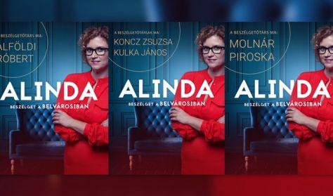Alinda beszélget a Belvárosiban, vendég: Molnár Piroska