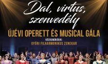 Dal, Virtus, Szenvedély - Újévi Operett és Musical Gála