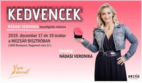 KED-VEN-CEK - Nádasi Veronika beszélgetős műsora - Vendég: Nádasi Veronika
