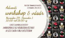 Karácsonyi workshop és vásár / Szombati jegy