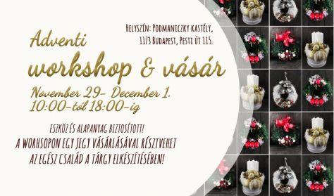 Karácsonyi workshop és vásár / Vasárnapi jegy