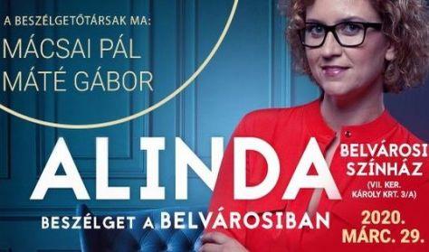 Alinda beszélget a Belvárosiban:Mácsai Pál - Máté Gábor