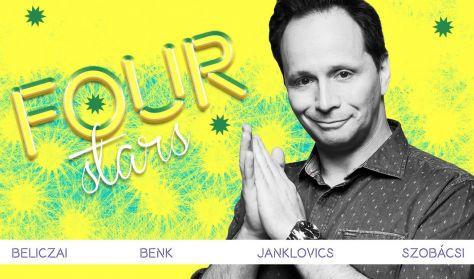 Four stars - Beliczai Balázs, Benk Dénes, Janklovics Péter, Szobácsi Gergő, vendég: Elek Péter