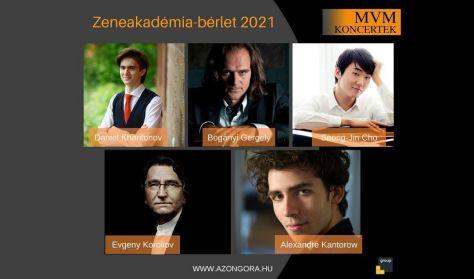 MVM Koncertek – A Zongora – Zeneakadémia-bérlet – 2021