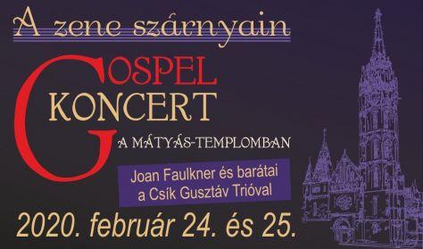 Gospel koncert a Mátyás-templomban -  Joan Faulkner és barátai a Csík Gusztáv Trióval