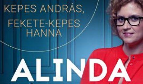 Alinda beszélget a Belvárosiban,vendég: Kepes András és Hanna
