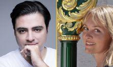 """Balázs János (zongora) és Vigh Andrea (hárfa), """"Óév-búcsúztató"""" koncertje"""