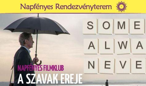 Napfényes Filmklub - A szavak ereje